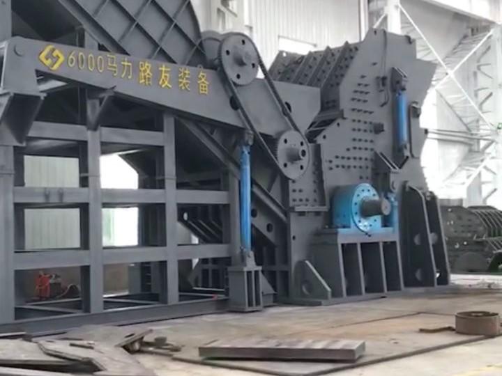 破碎机生产线